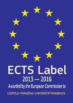 ects-label Universität Innsbruck
