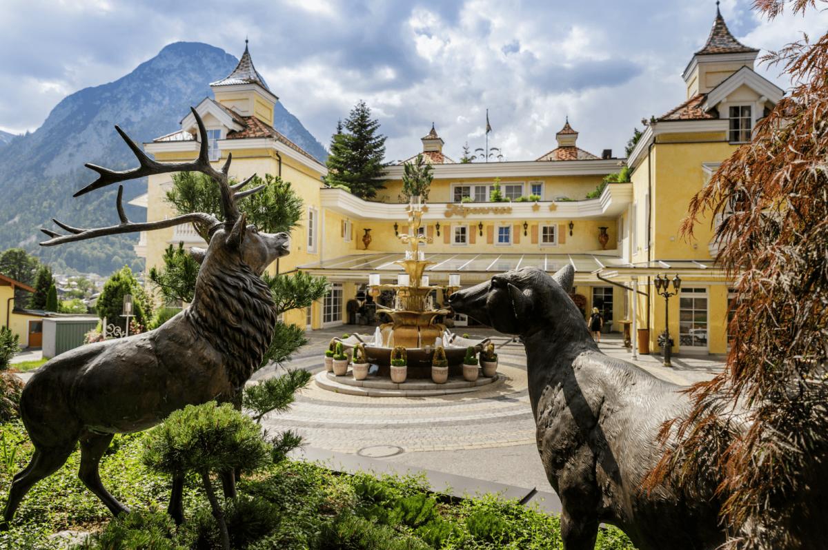 Alpenrose-Hotelansicht
